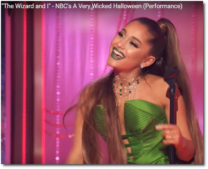 The Wizard and I | NBC's A Very Wicked Halloween (29 Oct 2018)