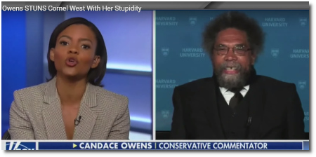 Candace Owens debates Cornel West on Laura Ingraham's show with commentary by Ana and Cenk (12 June 2019)