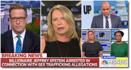 66-year old Billionaire Jeffrey Epstein arrested in connection with sex-trafficking allegations (7 July 2019)
