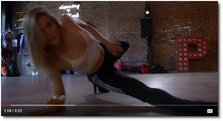 Kayla Brenda choreography to Earned It by The Weekend at The Playground in LA (9 Sept 2019)