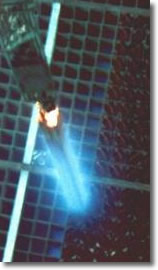 Cherenkov Radiation from Nuclear Spent Fuel