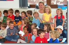 Twenty Kindergartens in class
