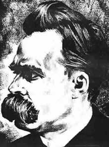Friedrich Nietzsche sketch