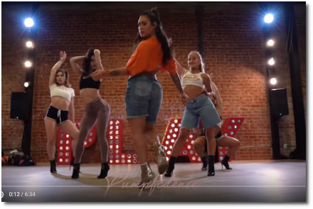Brinn Nicole and her sexy dancers choreo for Love Dont Cost a Thing (18 Sept 2019)