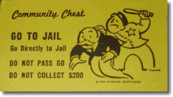 Go to Jail | Go directly to Jail | Do not pass Go | Do not collect $200