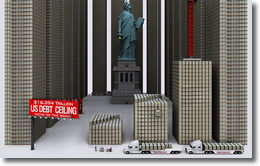 U.S. Debt Ceiling 16 Trillion dollars, December 2012