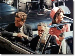 JFK at Dealey Plaza Dallas Texas November 22, 1963 .. minutes before his assassination