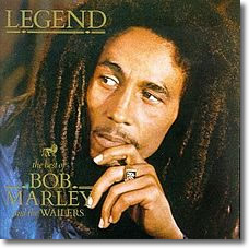 Bob Marley's Legend Cover (1984), released 3 years after he died