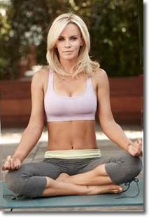 Jenny McCarthy | Yoga Girl in Lotus