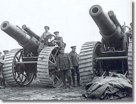 Guns of August 1914, British Canons