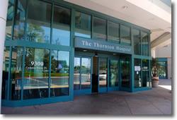 Main Entrance to Thornton Hospital UCSD, La Jolla