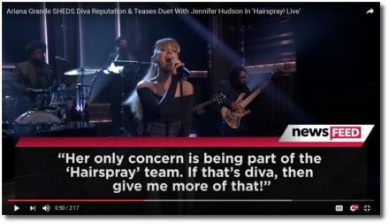 Ariana the team player sheds diva image