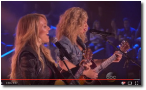 Jewel and Tori Kelly singing You Were Meant for Me
