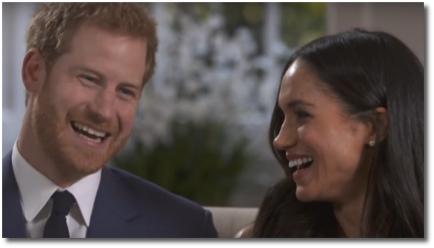 Prince Harry had to up his game for Meghan Markle (t=3:50)