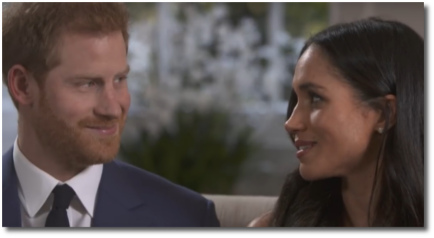 Prince Harry & Meghan Markle being authentic and organic