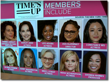 Time's Up members include